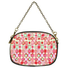 Far Out Geometrics Chain Purse (one Side)