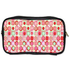 Far Out Geometrics Travel Toiletry Bag (One Side)