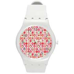Far Out Geometrics Plastic Sport Watch (Medium)