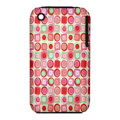Far Out Geometrics Apple iPhone 3G/3GS Hardshell Case (PC+Silicone)
