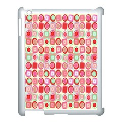 Far Out Geometrics Apple iPad 3/4 Case (White)