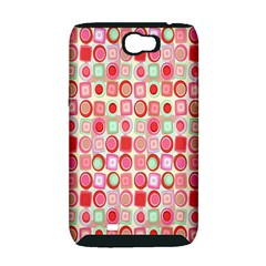 Far Out Geometrics Samsung Galaxy Note 2 Hardshell Case (PC+Silicone)