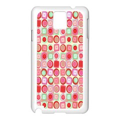 Far Out Geometrics Samsung Galaxy Note 3 N9005 Case (White)
