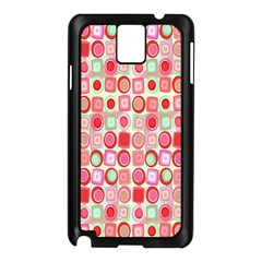 Far Out Geometrics Samsung Galaxy Note 3 N9005 Case (Black)