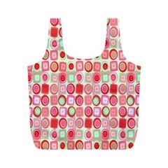 Far Out Geometrics Reusable Bag (M)