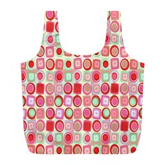 Far Out Geometrics Reusable Bag (L)