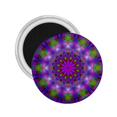 Rainbow At Dusk, Abstract Star Of Light 2 25  Button Magnet