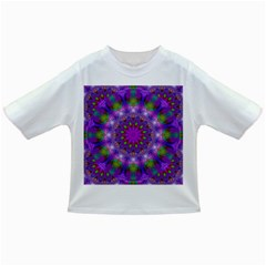 Rainbow At Dusk, Abstract Star Of Light Baby T-shirt
