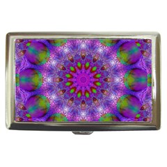 Rainbow At Dusk, Abstract Star Of Light Cigarette Money Case