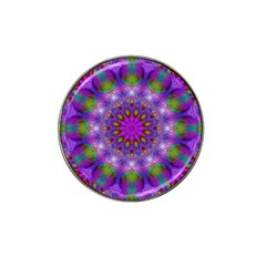 Rainbow At Dusk, Abstract Star Of Light Golf Ball Marker (for Hat Clip)