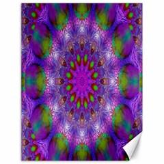 Rainbow At Dusk, Abstract Star Of Light Canvas 18  X 24  (unframed)