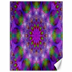 Rainbow At Dusk, Abstract Star Of Light Canvas 36  x 48  (Unframed)