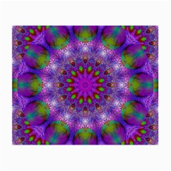 Rainbow At Dusk, Abstract Star Of Light Glasses Cloth (Small, Two Sided)