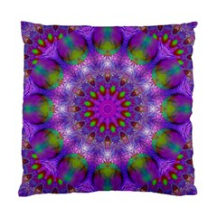 Rainbow At Dusk, Abstract Star Of Light Cushion Case (Two Sided)