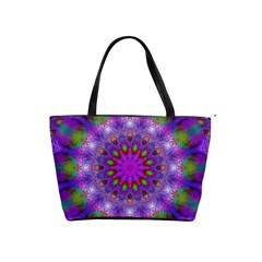Rainbow At Dusk, Abstract Star Of Light Large Shoulder Bag