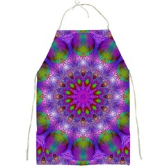 Rainbow At Dusk, Abstract Star Of Light Apron