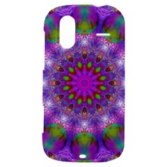 Rainbow At Dusk, Abstract Star Of Light HTC Amaze 4G Hardshell Case