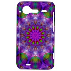 Rainbow At Dusk, Abstract Star Of Light HTC Incredible S Hardshell Case