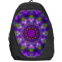 Rainbow At Dusk, Abstract Star Of Light Backpack Bag
