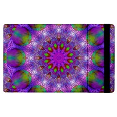 Rainbow At Dusk, Abstract Star Of Light Apple Ipad 3/4 Flip Case