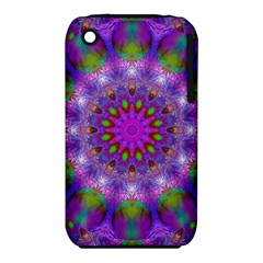 Rainbow At Dusk, Abstract Star Of Light Apple iPhone 3G/3GS Hardshell Case (PC+Silicone)