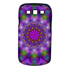 Rainbow At Dusk, Abstract Star Of Light Samsung Galaxy S III Classic Hardshell Case (PC+Silicone)