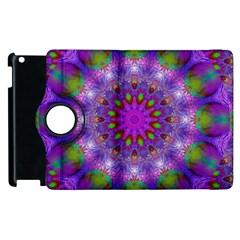 Rainbow At Dusk, Abstract Star Of Light Apple Ipad 3/4 Flip 360 Case