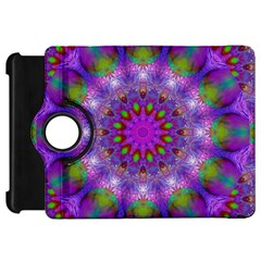 Rainbow At Dusk, Abstract Star Of Light Kindle Fire HD 7  (1st Gen) Flip 360 Case