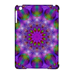 Rainbow At Dusk, Abstract Star Of Light Apple iPad Mini Hardshell Case (Compatible with Smart Cover)