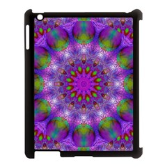 Rainbow At Dusk, Abstract Star Of Light Apple Ipad 3/4 Case (black)