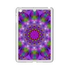 Rainbow At Dusk, Abstract Star Of Light Apple iPad Mini 2 Case (White)