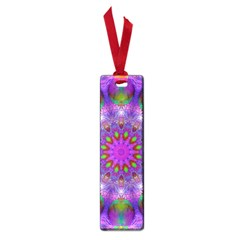 Rainbow At Dusk, Abstract Star Of Light Small Bookmark