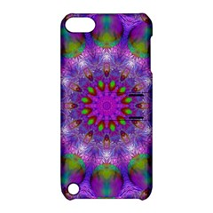 Rainbow At Dusk, Abstract Star Of Light Apple iPod Touch 5 Hardshell Case with Stand