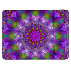 Rainbow At Dusk, Abstract Star Of Light Samsung Galaxy Tab 7  P1000 Flip Case