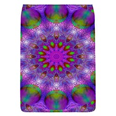 Rainbow At Dusk, Abstract Star Of Light Removable Flap Cover (Small)