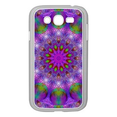 Rainbow At Dusk, Abstract Star Of Light Samsung Galaxy Grand DUOS I9082 Case (White)