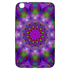 Rainbow At Dusk, Abstract Star Of Light Samsung Galaxy Tab 3 (8 ) T3100 Hardshell Case