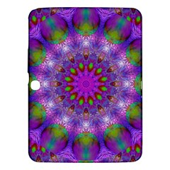 Rainbow At Dusk, Abstract Star Of Light Samsung Galaxy Tab 3 (10.1 ) P5200 Hardshell Case
