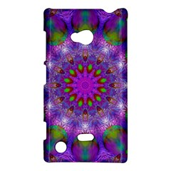 Rainbow At Dusk, Abstract Star Of Light Nokia Lumia 720 Hardshell Case