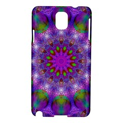 Rainbow At Dusk, Abstract Star Of Light Samsung Galaxy Note 3 N9005 Hardshell Case