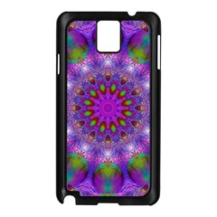 Rainbow At Dusk, Abstract Star Of Light Samsung Galaxy Note 3 N9005 Case (black)