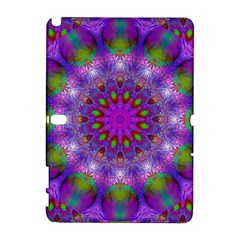 Rainbow At Dusk, Abstract Star Of Light Samsung Galaxy Note 10.1 (P600) Hardshell Case