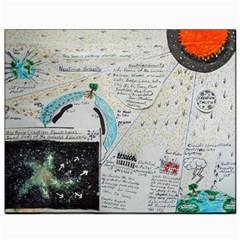 Neutrino Gravity, Canvas 8  x 10  (Unframed)