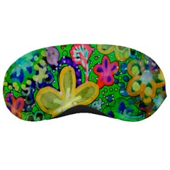 Beautiful Flower Power Batik Sleeping Mask