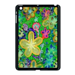 Beautiful Flower Power Batik Apple Ipad Mini Case (black)