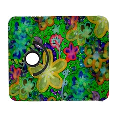 Beautiful Flower Power Batik Samsung Galaxy S  III Flip 360 Case