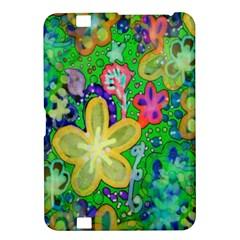 Beautiful Flower Power Batik Kindle Fire HD 8.9  Hardshell Case