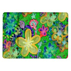 Beautiful Flower Power Batik Samsung Galaxy Tab 10.1  P7500 Flip Case