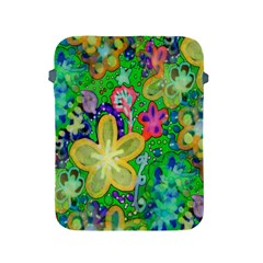 Beautiful Flower Power Batik Apple iPad Protective Sleeve