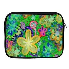 Beautiful Flower Power Batik Apple Ipad Zippered Sleeve